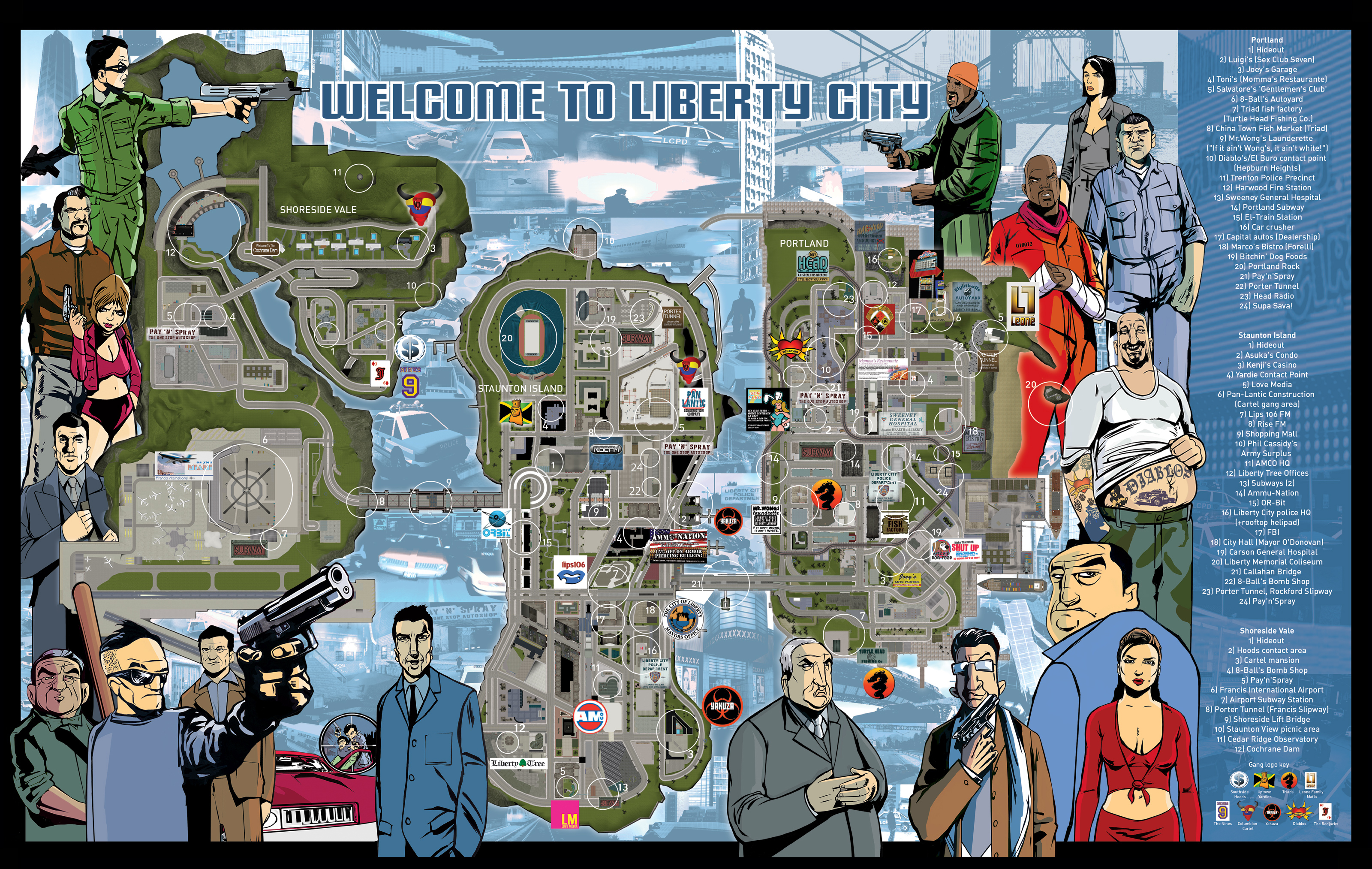 Gta vice city map size this grand theft auto vice