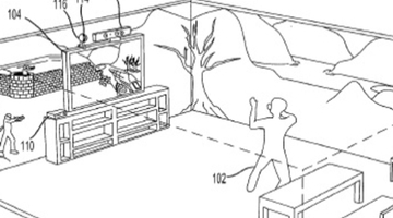 Microsoft applies for 3D projection patent