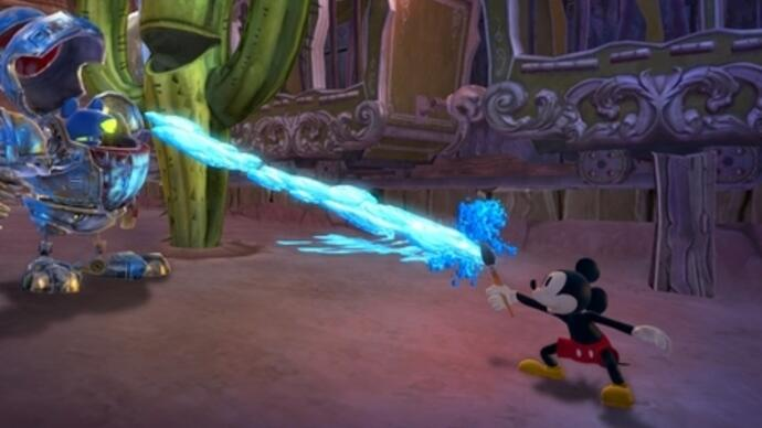 Disney Epic Mickey 2: The Power of Two a Wii U launch title