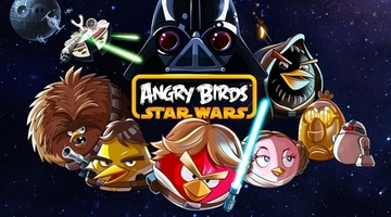 Star Wars Angry Birds crossover hatched