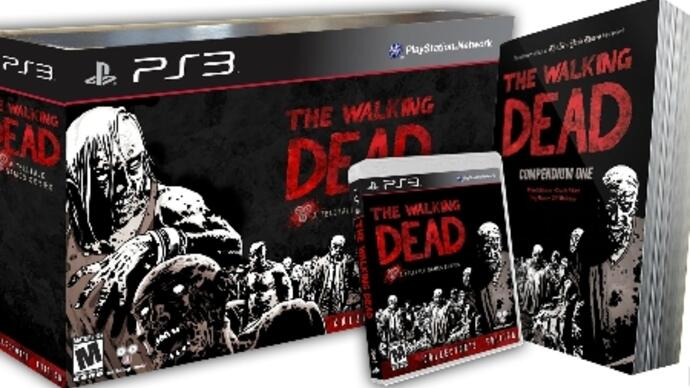 The Walking Dead Collector's Edition is a GameStop exclusive