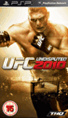 Packshot for UFC Undisputed 2010 on PSP