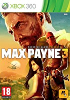 Packshot for Max Payne 3 on Xbox 360