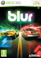 Packshot for Blur on Xbox 360