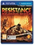 Packshot for Resistance Burning Skies on PlayStation Vita