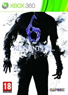 Packshot for Resident Evil 6 on Xbox 360