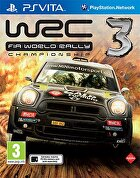 Packshot for WRC 3 on PlayStation Vita