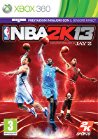 Packshot for NBA 2K13 on Xbox 360