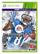 Packshot for Madden NFL 13 on Xbox 360