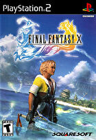Packshot for Final Fantasy X on PlayStation 2
