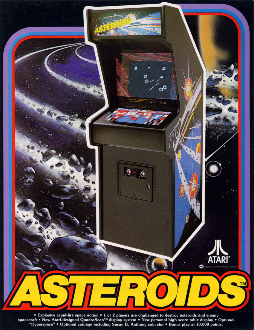 asteroid promotional poster-#4