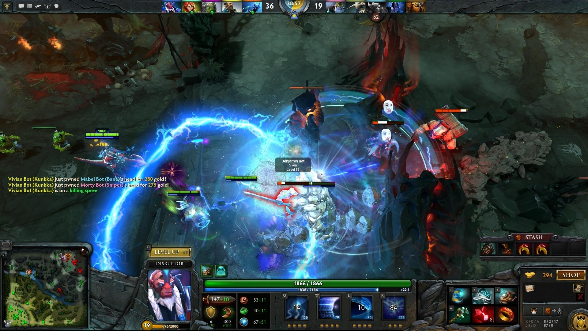 playing dota Hello i have searched the internet for weeks without answers to my problem i play a game called dota 2 alot, it's valve produced and is on steam some weeks ago, while playing the game my right.