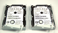 On the left we have the official 250GB upgrade, a Hitachi Z5K500-250. It's almost certainly the same drive as used in the US 250GB PS3 SKU. On the right the Hitachi Z5K500-500, as found in the 500GB PS3. These are our other test subjects.