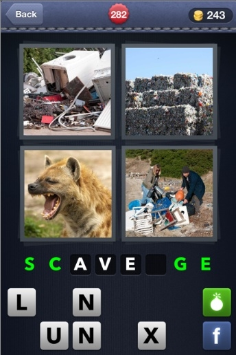 4 Pics 1 Word Cheats Tips