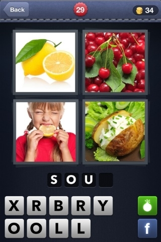 4 Pics 1 Word Cheats: 4 Letter Words Part 1 - AOL Games