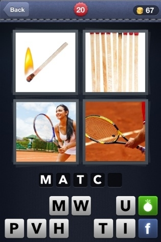 4 Pics 1 Word Cheats: 5 Letter Words Part 1 - AOL Games