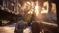 Gears of War: Judgment brings the big guns as far as lighting goes, with light-rays pouring through gaps in buildings and trees, and high-dynamic range shifting the balance when moving indoors.