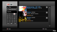 Manual searches can also be performed on LoveFilm, although menus are much slower to respond than Netflix.