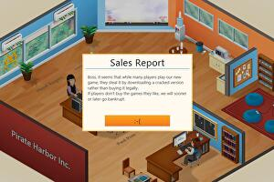 Game Dev Tycoon forces those who pirate the game to unwittingly fail