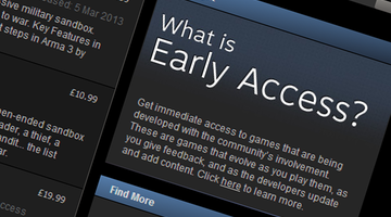 Steam Early Access: From Underdogs to Alpha Dogs