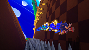 Sonic: Lost World HD Widescreen Desktop Wallpaper