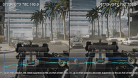 Tracking Battlefield 3 gameplay in like-for-like sections, we do see some clear advantages from the new Core i7 4770K, though the frame-rate improvement is not entirely consistent.