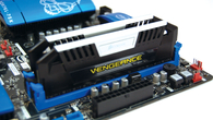 Corsair provided us with two 8GB modules of its new enthusiast-level, overclocking friendly Vengeance Pro. It's available shortly across a range of frequencies - our test modules operated at an impressive 1866MHz in a dual-channel configuration.