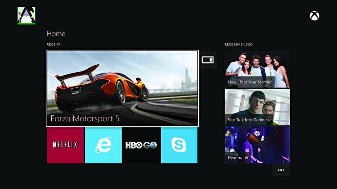Beyond live TV - what the Xbox One user interface means for