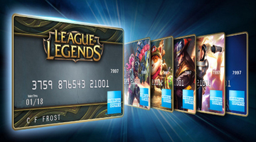 American Express: League Of Legends offers real sports opportunities