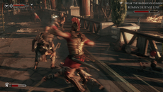 Lastly, a look at the per-object motion blur used liberally throughout the game. Ryse appears to make use of a high number of samples for its implementation.