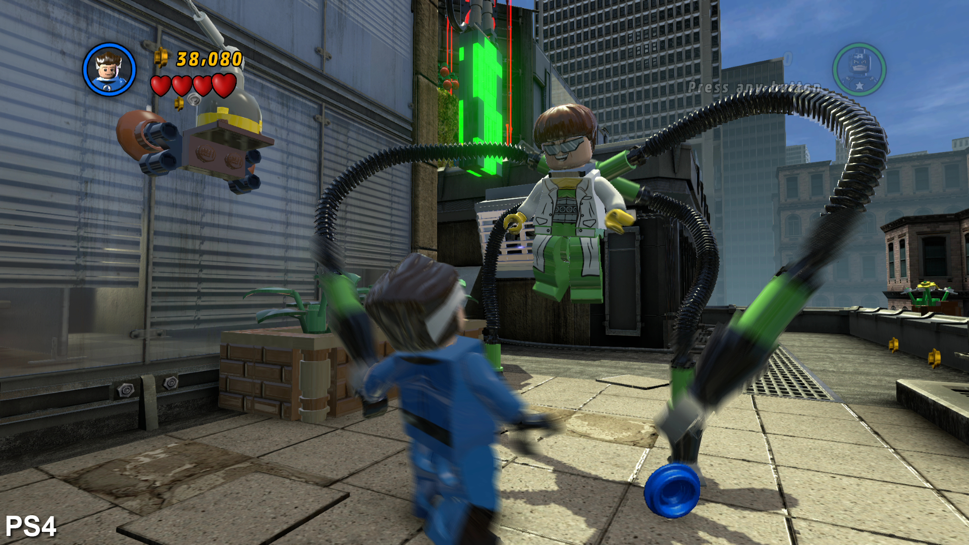 Next-Gen Face-Off: Lego Marvel Super Heroes • Eurogamer net