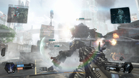 The flatness of the game's aesthetic is partly masked by lighting tricks, such as lens flare and bloom.