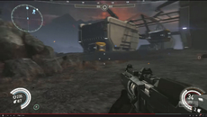 The blur is from the video not game.