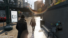 Daytime lighting is the Achilles Heel of Watch Dogs in its final form. The earlier version of the game offers a far more natural look during the day - and note the additional trees too.