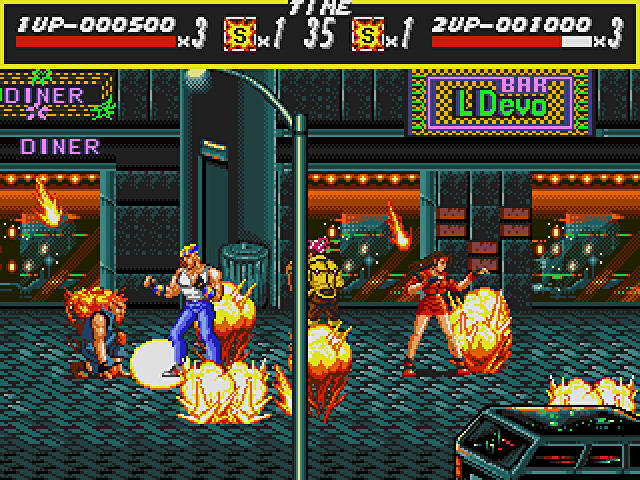 Streets of Rage was much more than a Final Fight clone