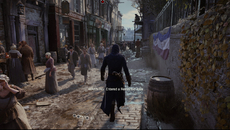 PC users will recognise the quality of real-time reflections used in Assassin's Creed Unity - with rain also now affecting surfaces based on material type.