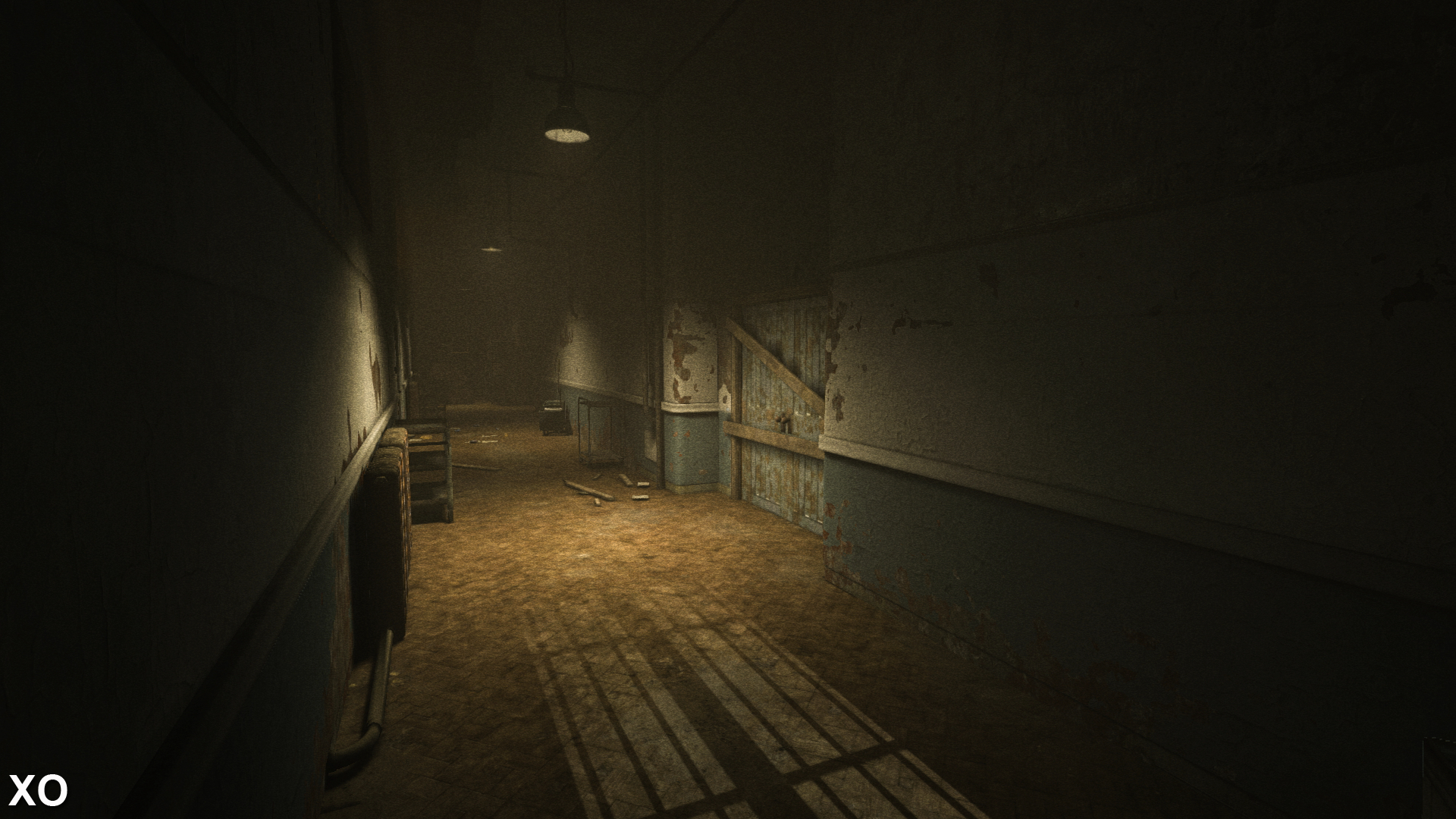Face Off Outlast Ps4 Trinity A Typical Hallway Demonstrates Just How Similar The Three Versions Look Its Nearly Impossible To Differentiate And Xo
