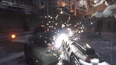 Set during the break of dawn, the Induction level demonstrated at E3 pushes for individually-lit particle effects, each of which dramatically affect scenery lighting.