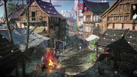 REDengine 3's advances in asset streaming are brought to PS4 and Xbox One. Loading screens are gone; The Witcher 3 now offers one seamless world with the huge Novigrad city at its heart.