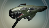 A new rocket launcher, Dragon's Breath.