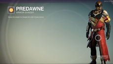 Predawne armour shader sold by Eris.
