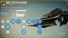 Necrochasm exotic auto rifle.