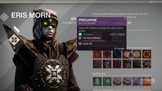Eris Morn - The Dark Below quest-giver and vendor.