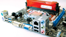 The H81M-P33 is a budget board for sure, but its 16x PCI Express gen 2 interface has enough bandwidth to get the job done, plus there's a PCI Express x1 slot and USB 3.0 ports too.