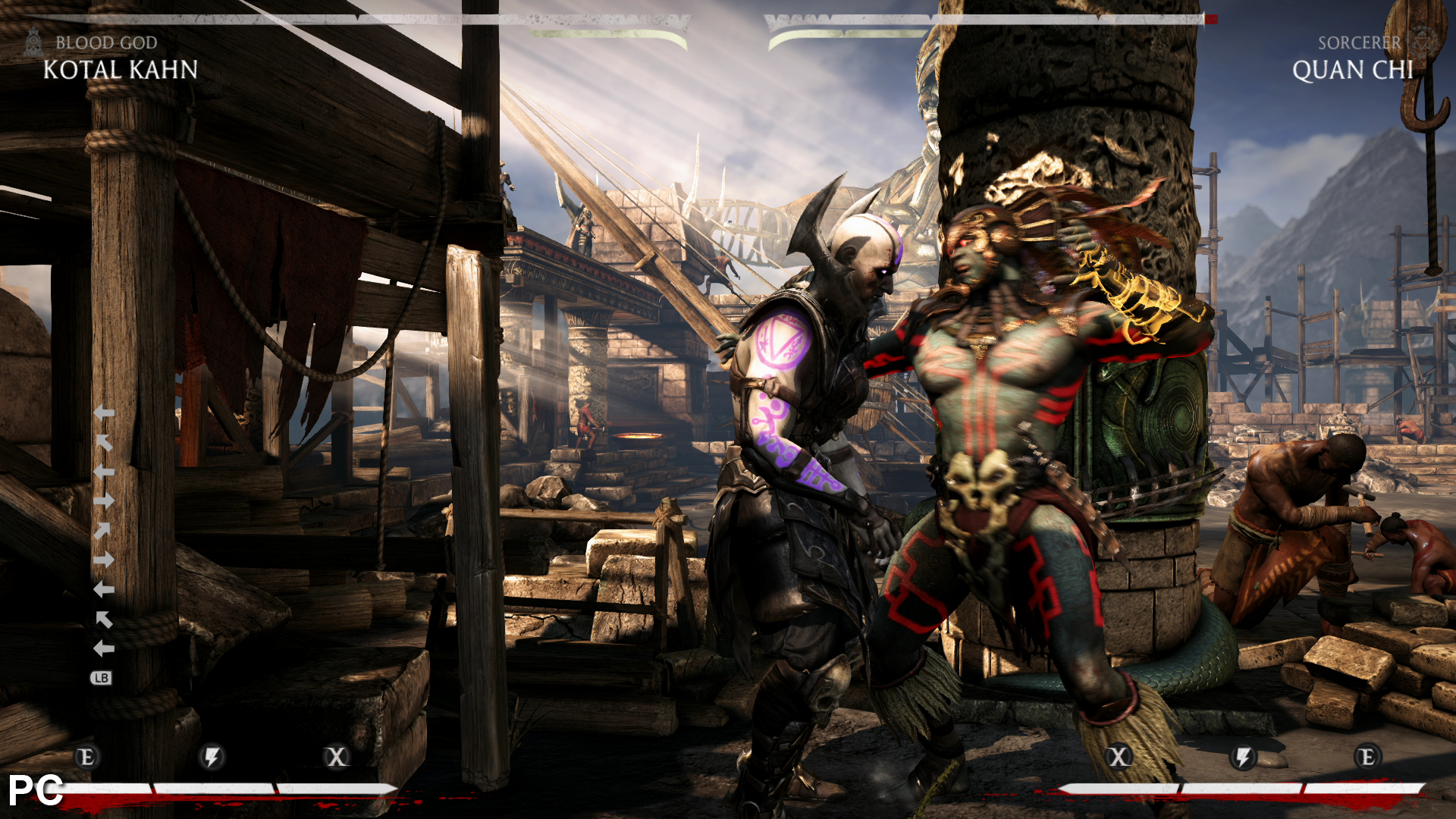 mkx matchmaking problems