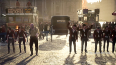 Only the face-off sequence between the gangs at the end of the gameplay demo suggests that a larger volume of NPCs can make an appearance in Syndicate.