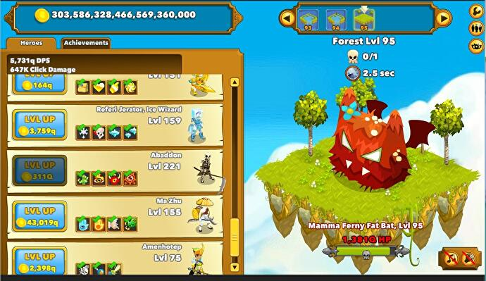 Going up? The mindless pleasures of Clicker Heroes • Eurogamer net