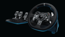Logitech's Xbox One wheel, the G920