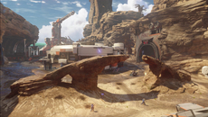 A look at one of the game's Warzone maps gives us a taste of the game's more natural environments.
