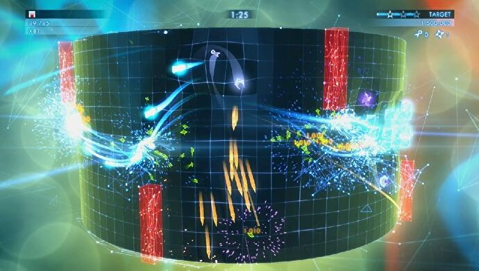 Geometry Wars 3 Dimensions Evolved a